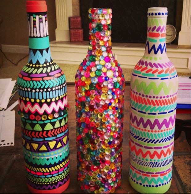 Make Decorative Items Using Waste Materials For Useful Purpose