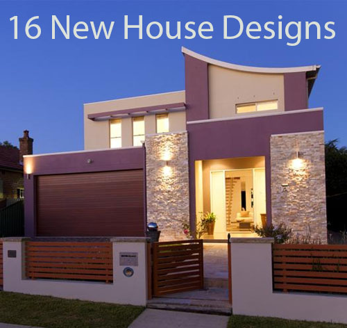 16 new house designs