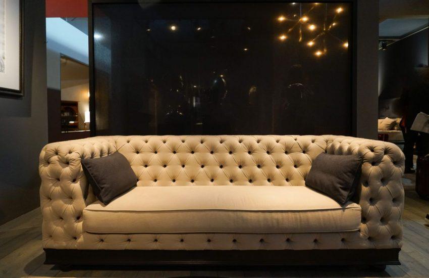 Modern Style Tufted Sofa